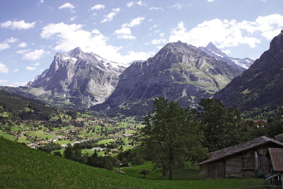 Grindlewald & Eiger, Switzerland