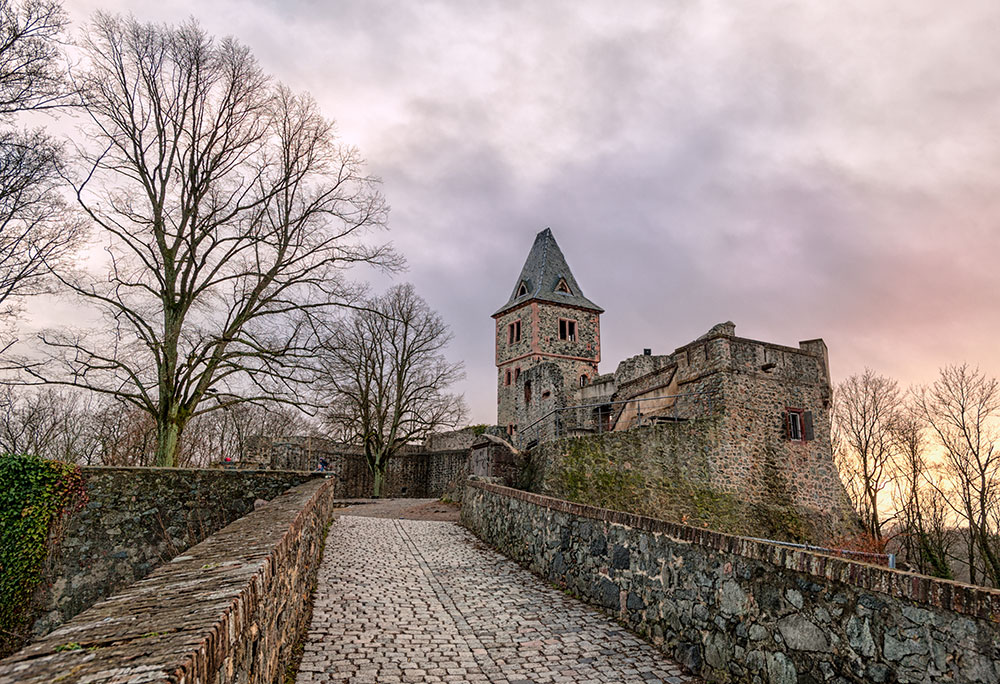 Holidays to Germany: Frankenstein's Castle