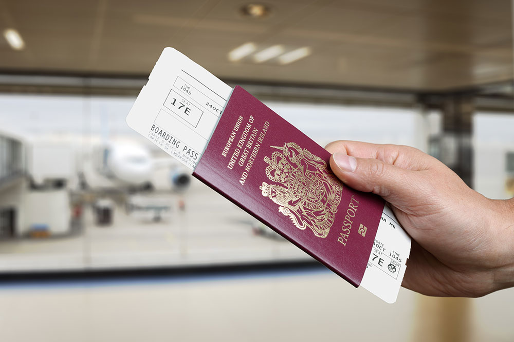 airport boarding pass