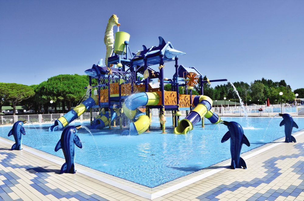 Kids pool at Marina di Venezia