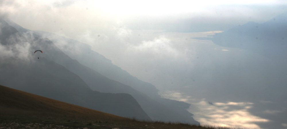 View from the summit at Monte Baldo