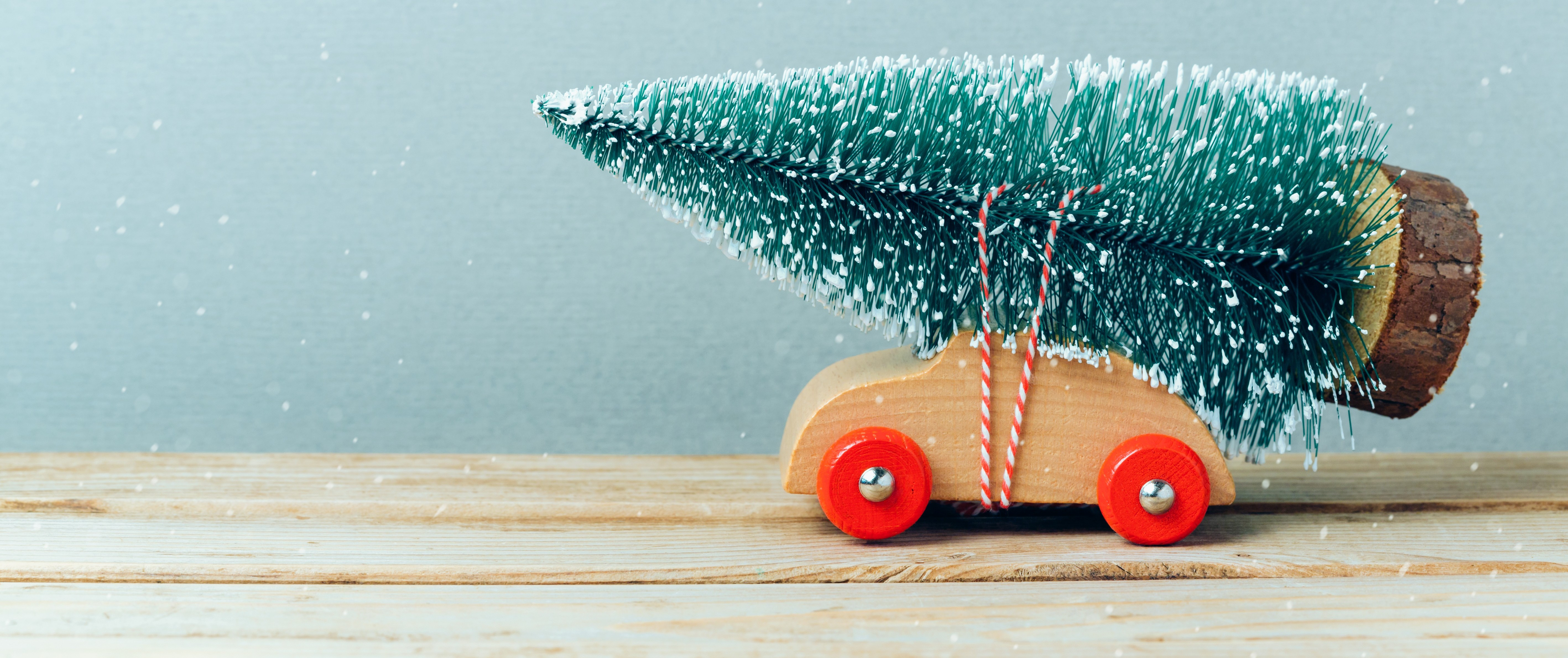 Christmas Tree on Car Toy